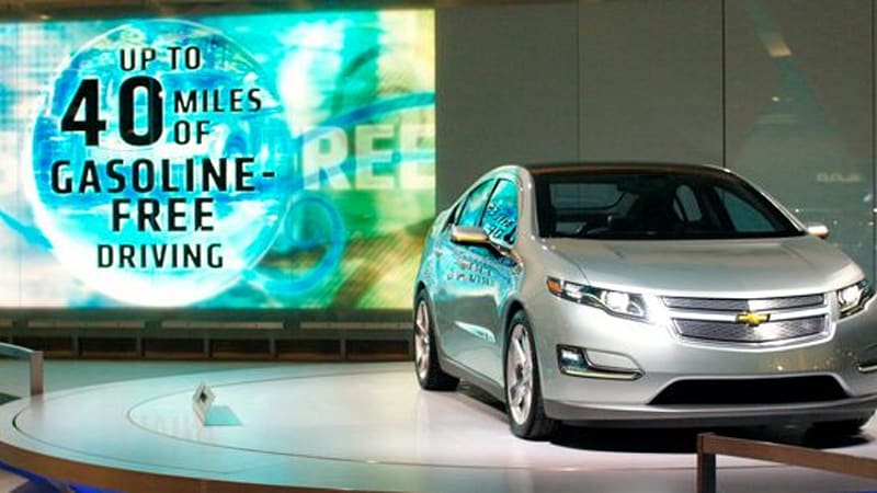 Report Chevy Volt S Range Will Be 25 Miles On Battery Or Maybe 50