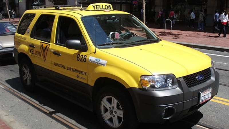 San Francisco S Green Taxi Fleet And How It Got There Autoblog