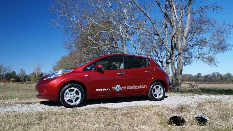 2011 Nissan Leaf Real World Range Test Covers 1161 Miles Autoblog