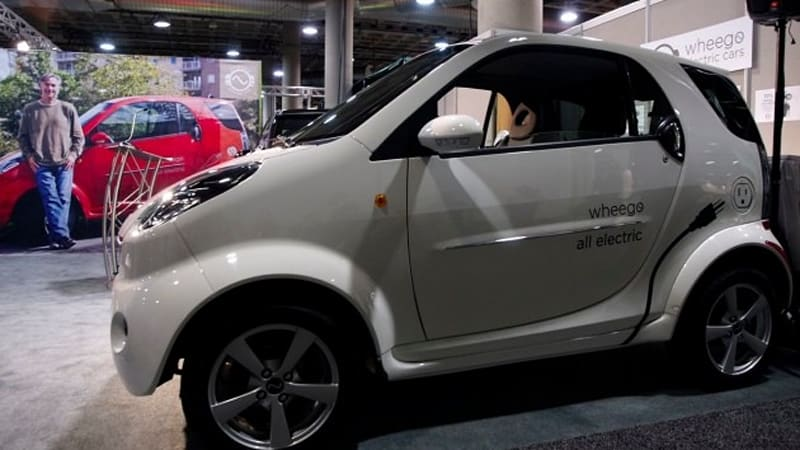 La 2010 Driving The Wheego Whip Life Electric Car From An Aggressive Little Company
