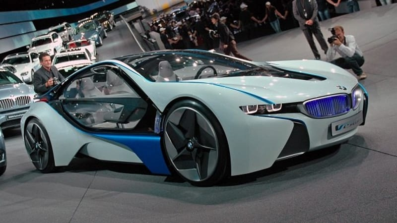 Rumormill Bmw S Production Vision Concept To Be Called I8
