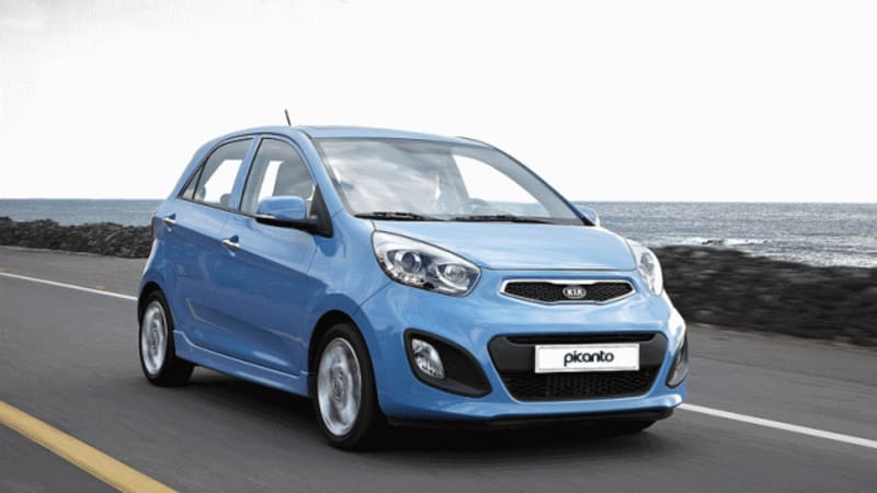 2012 Kia Picanto Boasts 57 Mpg Co2 Emissions As Low As 90 Gkm