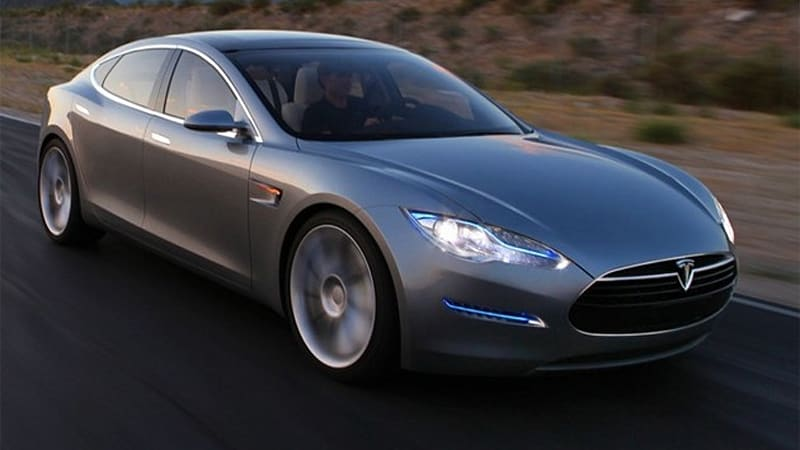 Tesla Model S Alpha Prototype Built And Rolling