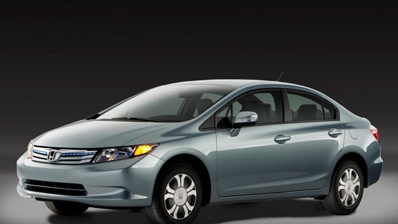 2012 honda civic launches with new hf model hybrid goes. Black Bedroom Furniture Sets. Home Design Ideas
