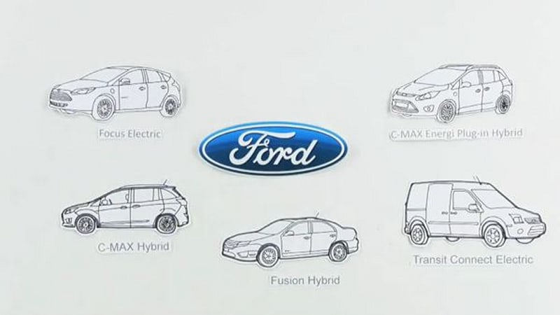 video  ford contrasts evs  hybrids  phevs with animation