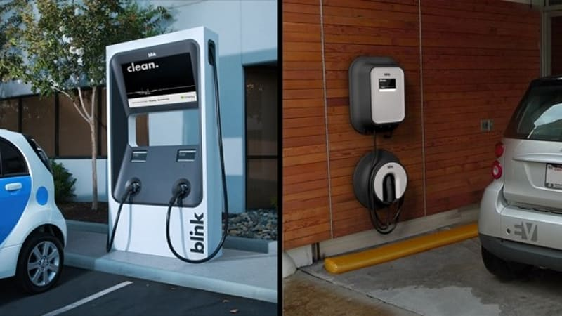 Blink Charging Stations >> Ecotality Installs 1 000th Blink Level 2 Residential