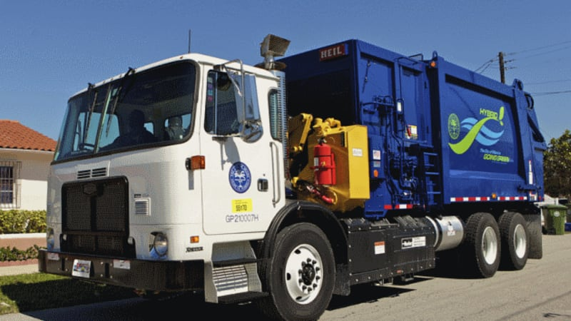 At Waste Expo 2017 Autocar Announced The Commercial Launch Of Its E3 Hydraulic Hybrid Chis Cab This Advanced Follows