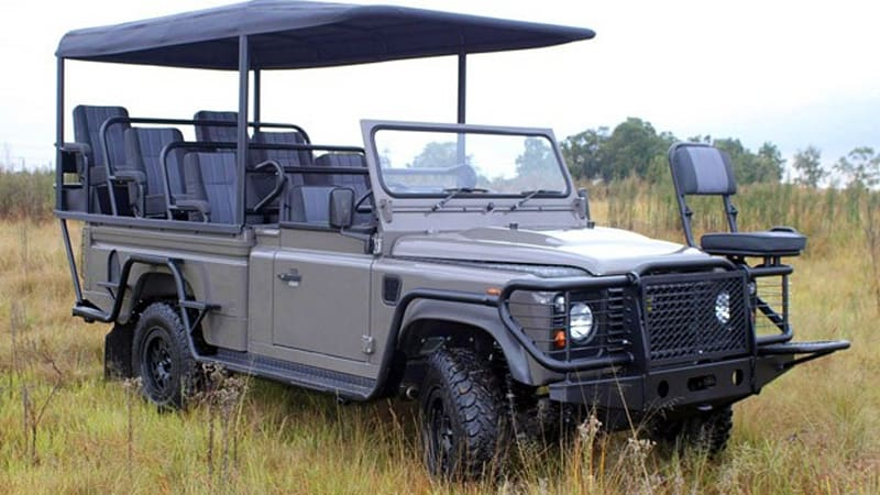 Axeon Unveils An All Electric Land Rover Defender For Safaris