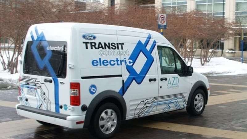 Ford Transit Connect Electric Joins Gsa Approved Plug In Vehicle