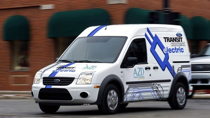 Deliveries Of Ford Transit Connect Electric To Hit 700 By End Of