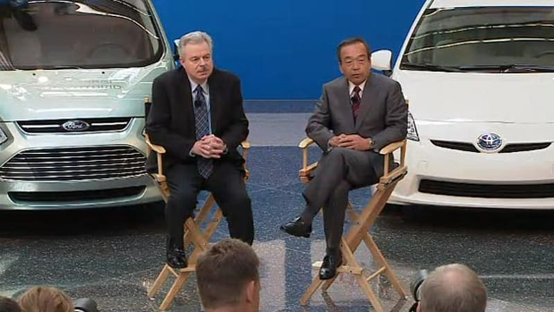 Ford Toyota Will Partner On Rwd Hybrid System For Trucks And Suvs