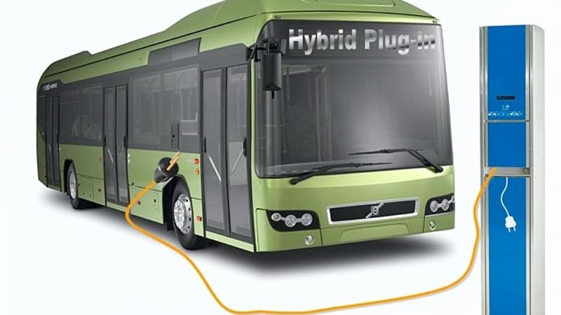 Volvo will test rapid-charge, plug-in hybrid bus next year