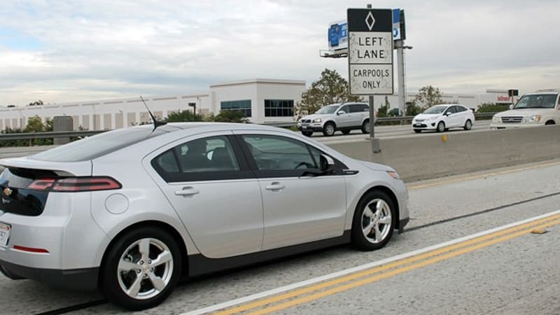 Chevy Volt Ready For California Hov Access Extra 1 500 In Rebates Updated