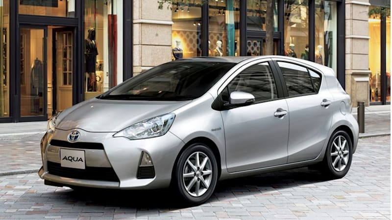 This Week, Toyota Motor Corp. Started Selling Its Aqua Hybrid Electric  Compact Car In Japan As The Worldu0027s Biggest Hybrid Vehicle Maker Looks To  Build Upon ...