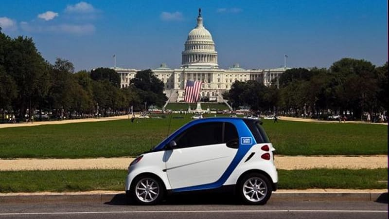 Daimler S Car2go Car Sharing Service Starts In D C Portland This Month