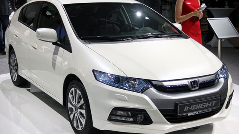 Honda Insight S The Lone Hybrid On Kelley Est To Own List
