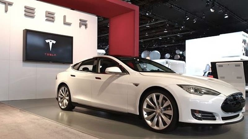 Tesla S Out Top Of The Line Model Signature Series
