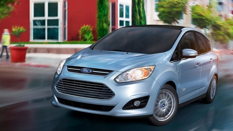 Ford C Max Energi Will Have 20 Mile Electric Range Get 95 Mpge W Video
