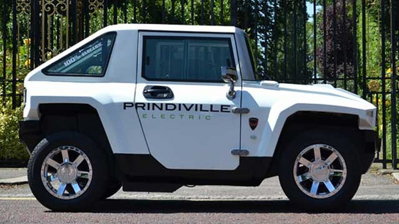 Been dreaming of an electric Hummer? Here you go - Autoblog