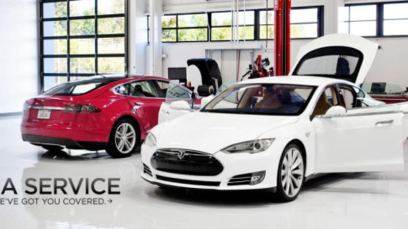 Tesla Model S will get update for 'creep' mode, Service Center costs