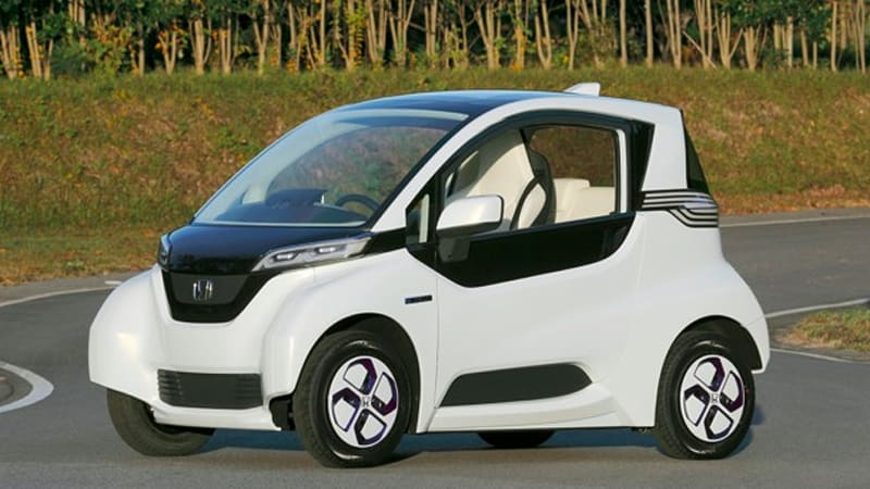 Honda Micro Commuter is a funky little quadricycle | Autoblog