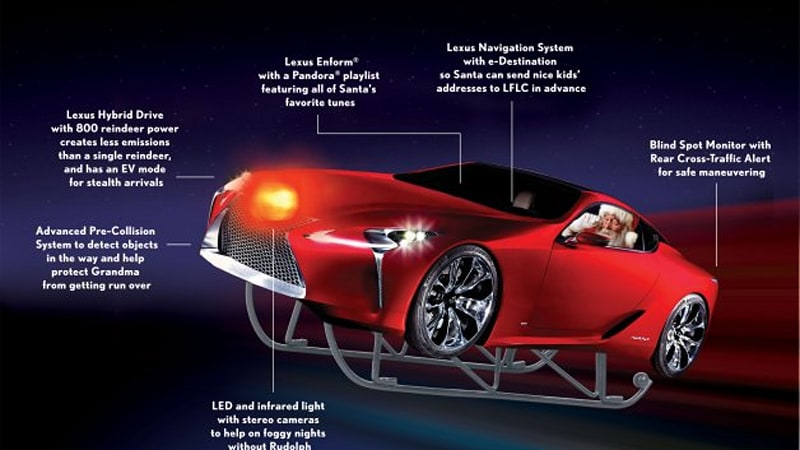 Lexus Flying Car >> Lexus Saves Christmas With Its Flying Luxury Cruiser Autoblog