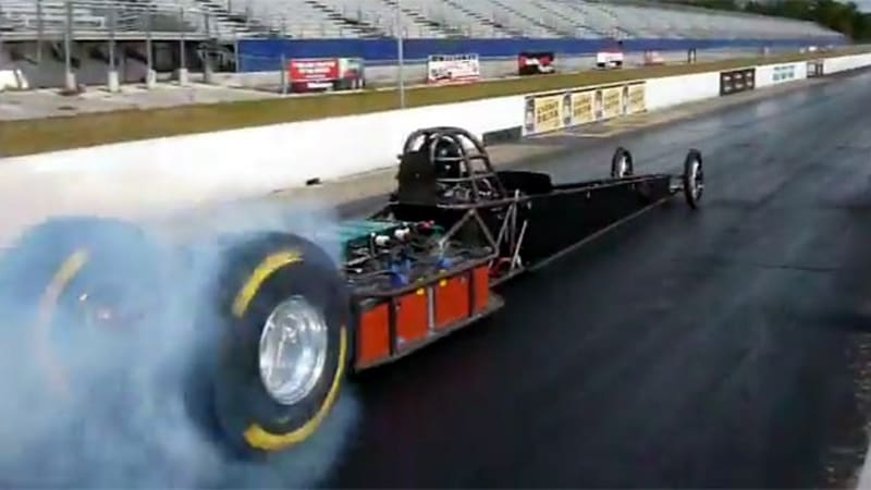 Don Garlits Drives Electric Swamp Rat 37 In Preparation Of Record Attempt