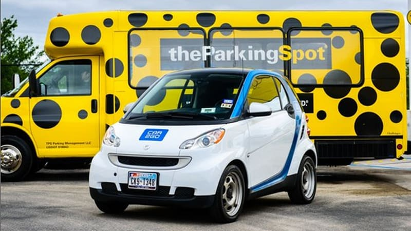 Car2go Adds Airport Parking To Carsharing Deal In Austin Autoblog
