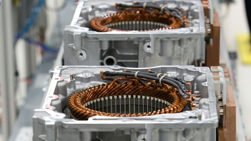 chevy starts spark ev motor production in baltimore autoblog
