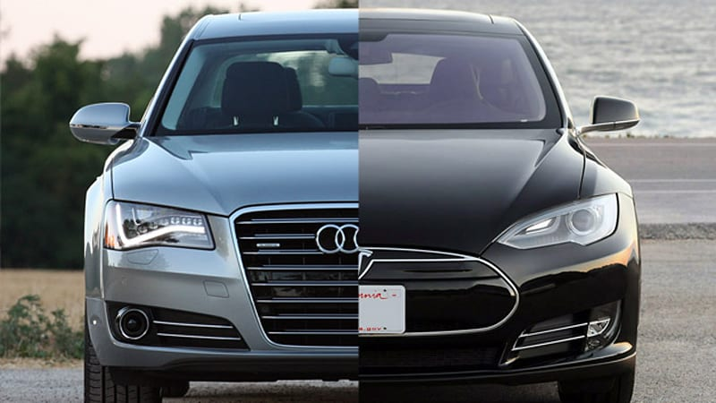 Audi Says Not So Fast Tesla Lovers Attacks Model S Success - Audi recent model