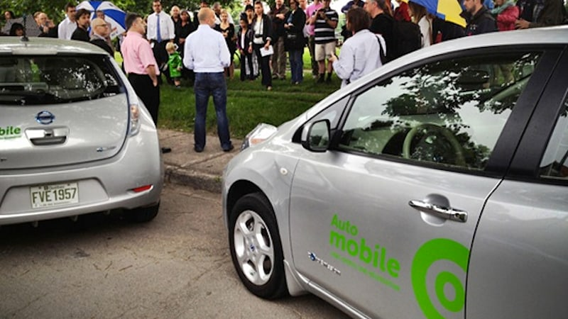 Communauto all-electric carsharing program charges up in