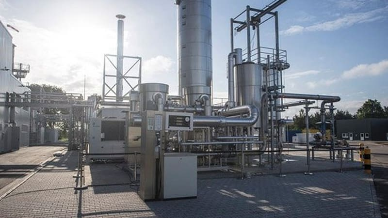 Audi Has Opened The Doors To Its New Gas Facility Which Will Make What Automaker Calls E In Werlte Germany Plant Produces Hydrogen