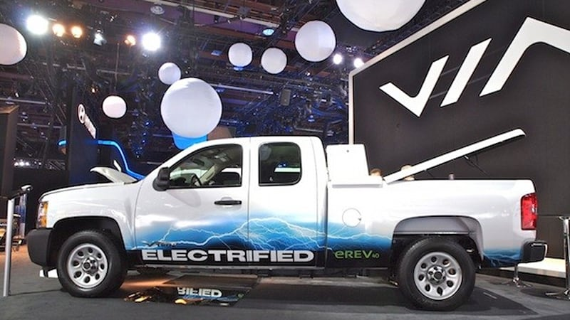 Via Motors Vtrux Plug In Hybrid Truck Stands Ready To Your Block Autoblog