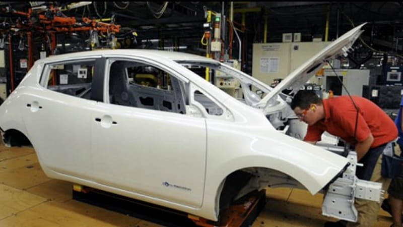 Interesting News For Anyone Happy To See Nissan Build Its All Electric Leaf  In America U2013 Its Components Are Coming Mainly From Overseas.