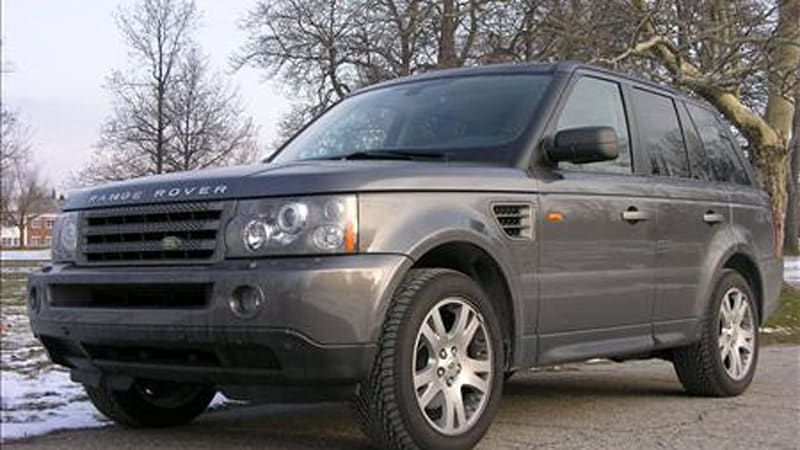 2006 land rover range rover sport hse in the autoblog for Land rover garage