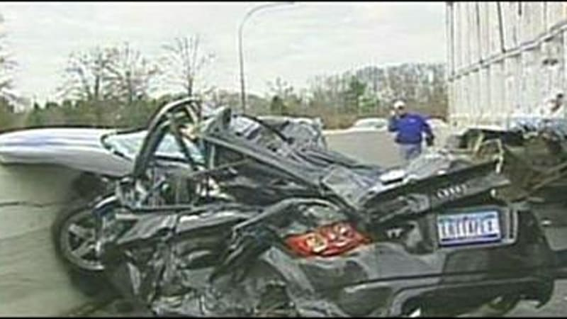 Video Audi Dealer Lucky To Be Alive After Being Sandwiched By - Audi dealerships in new jersey