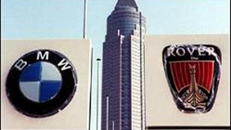 the reasons for the bmw and rover acquisition