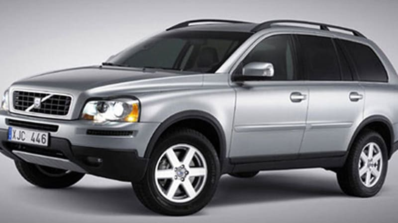 Volvo performs mildest facelift ever on 2007 XC90 - Autoblog