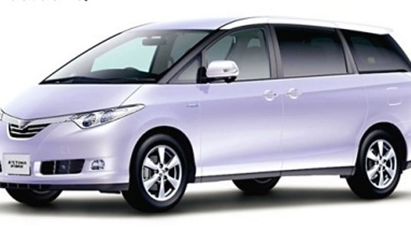 In 2000 The Toyota Estima Hybrid Became First Minivan To Ever Sport Advanced New Train Technology Yesterday Released Fully