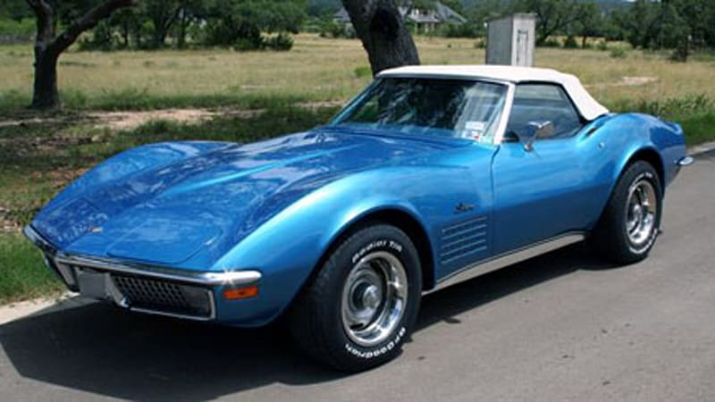 Ebay Find Of The Day Matthew Mcconaughey S 1971 Corvette Stingray Convertible