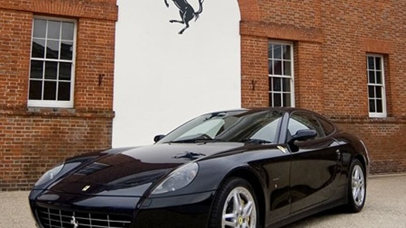 we recently reported on the ferrari 612 scaglietti that wallpaper art staff would be designing and have on display at the goodwood festival of