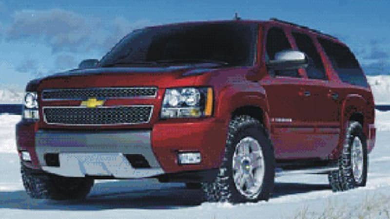 Chevy suburban with z71 package surfaces autoblog gminsidenews community managed to grab what appears to be official pics somewhere of a chevy suburban wearing the not yet released z71 offroad package sciox Image collections