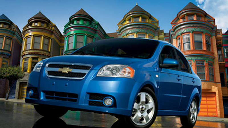 Chevy Launches 2007 Aveo Sedan Autoblog