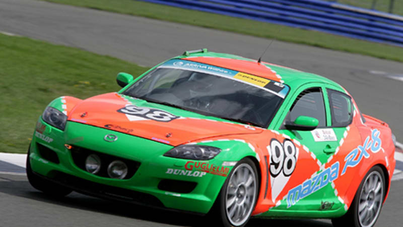 Mazda RX 8 reliability tested for third time at 24 hour