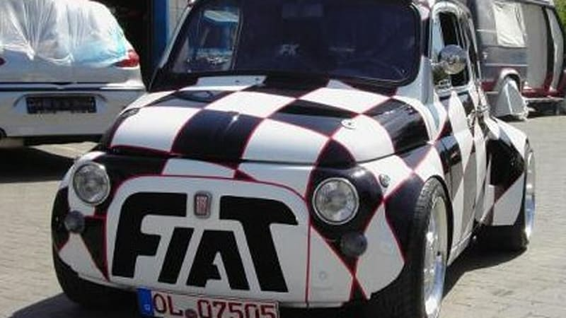 Ebay Find Of The Day Turbo Six Powered Fiat 500 Autoblog