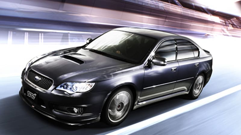 Subaru Legacy Sti Package Introduced In Japan Autoblog