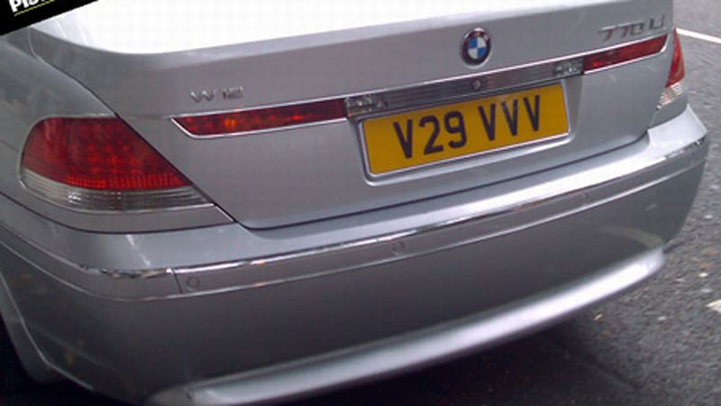A Keen Observer In The UK Sent Blokes Over At PistonHeads Above Pic Of BMW 7 Series With 770Li Badging And Even Weirder