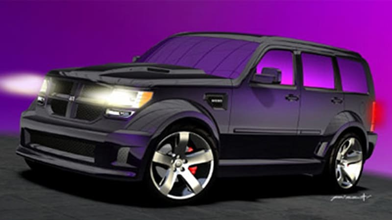 Dodge nitro gets a hemi for sema autoblog dodge has released some initial info on what it has in store for sema this year the big deal will be the challenger super sort concept thatll be on sciox Choice Image