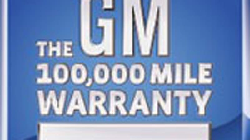 Gm Powertrain Warranty >> Gm Increases Warranty To Five Years 100 000 Miles Autoblog