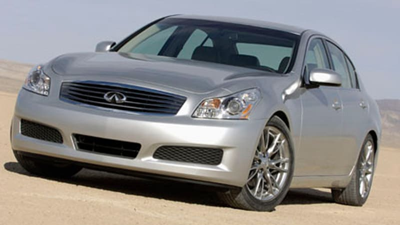 2007 Infiniti G35 Sedan >> Infiniti Drops The Price On All New 2007 G35 Sedan Autoblog